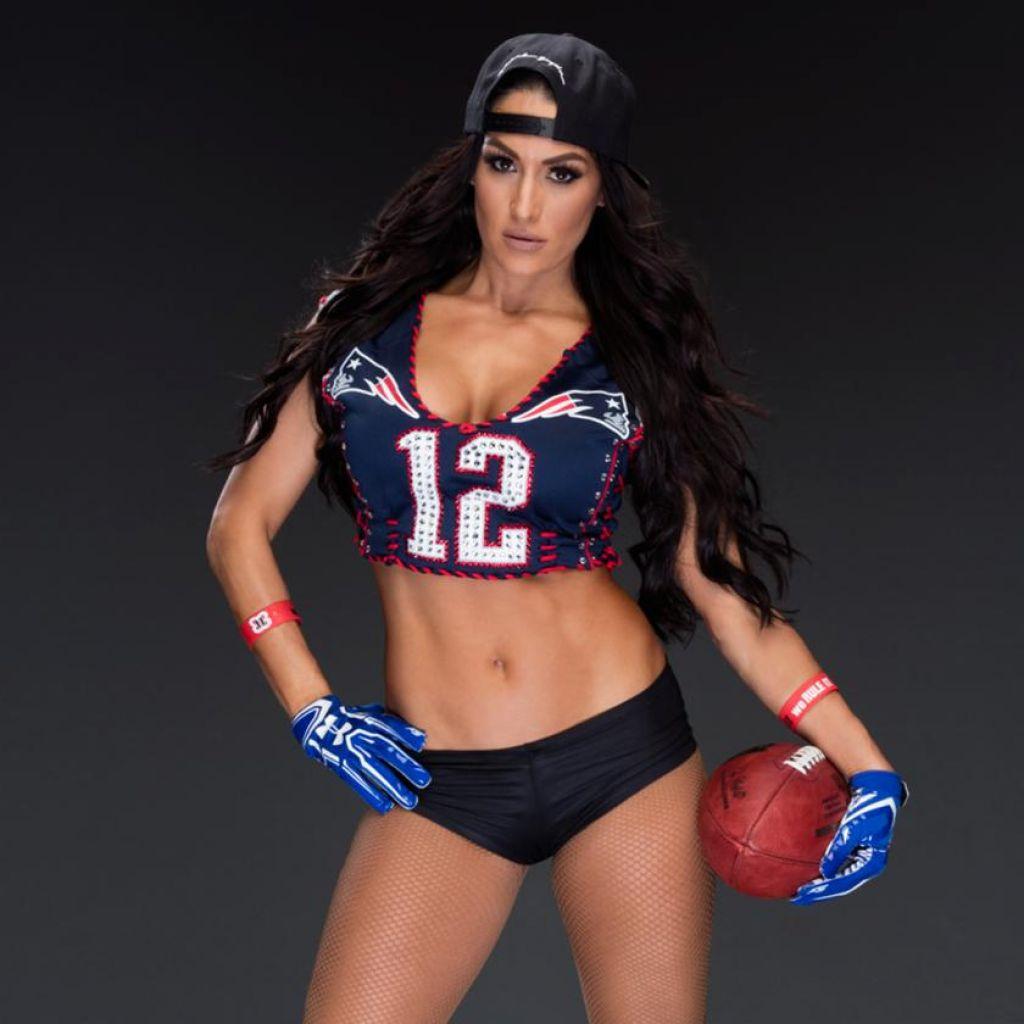 And Patriots Brie Nikki Bella