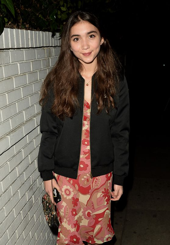 Rowan Blanchard - Leaves the Chateau Marmont 1/31/ 2017