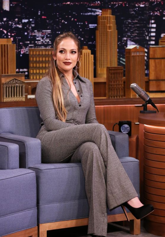 Jennifer Lopez Appeared on The Tonight Show Starring Jimmy Fallon 3/1/ 2017