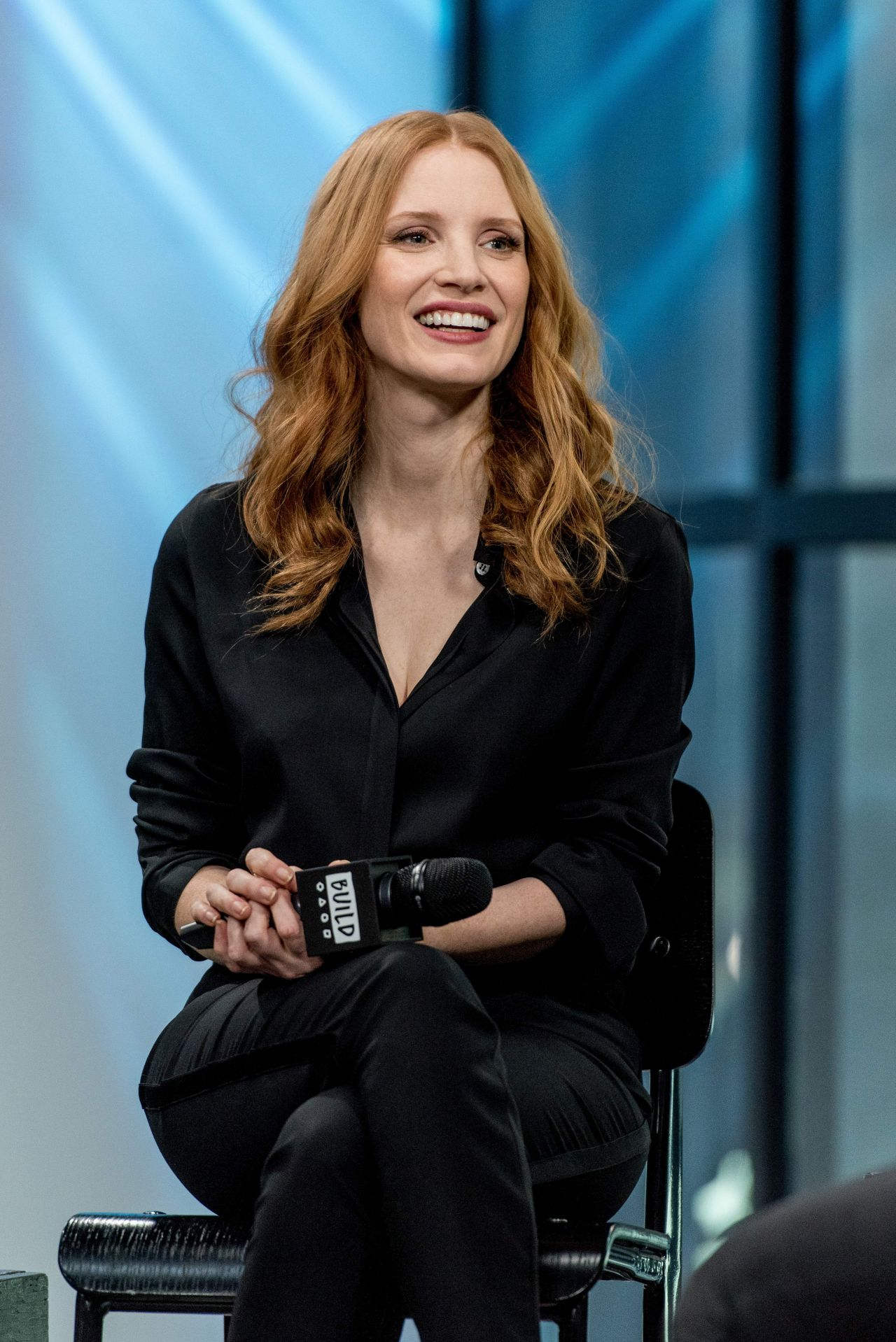 Jessica Chastain Build Speaker Series In NYC 321 2017