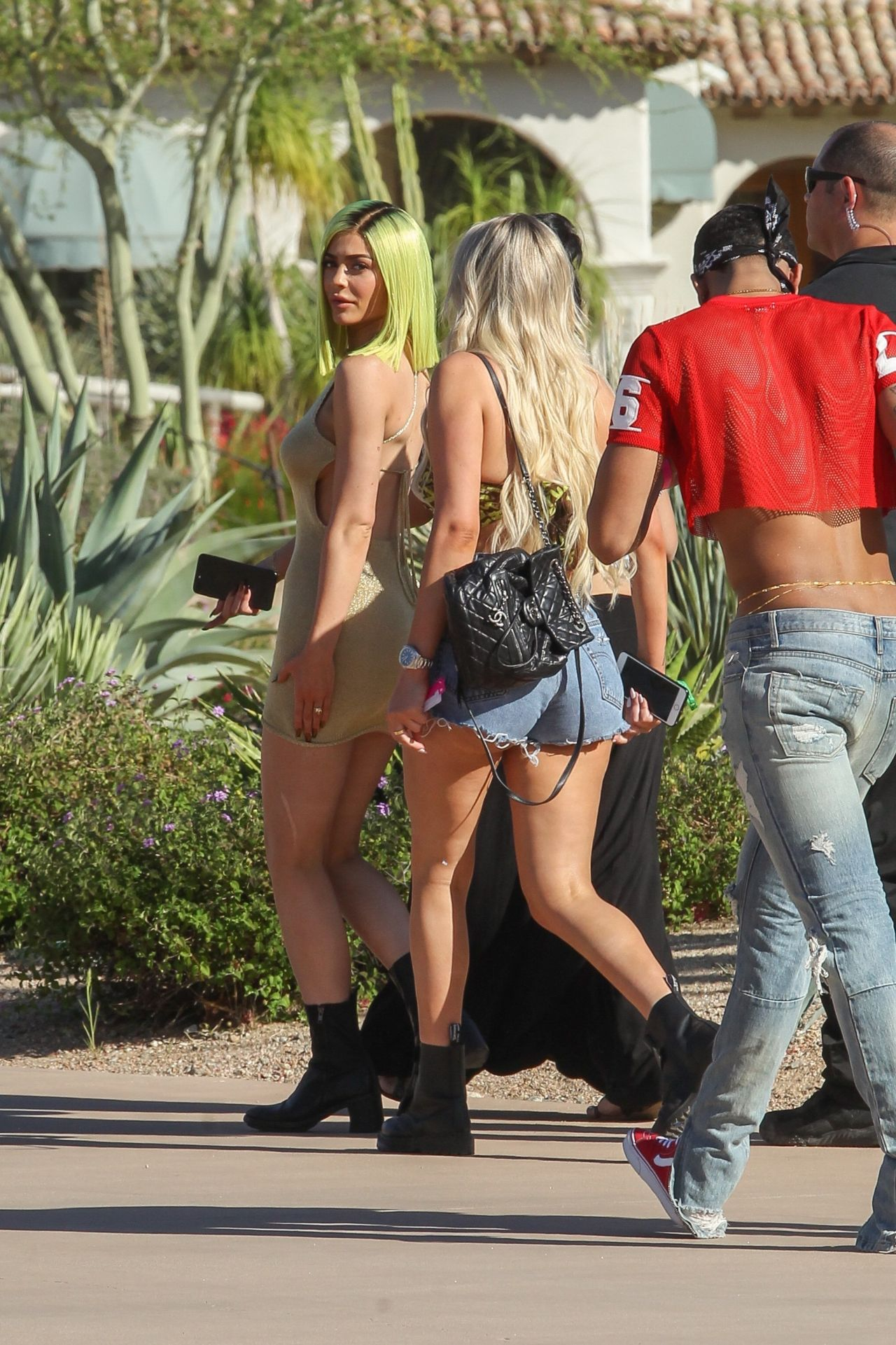Kylie Jenner Arrived At The Coachella Music Festival In