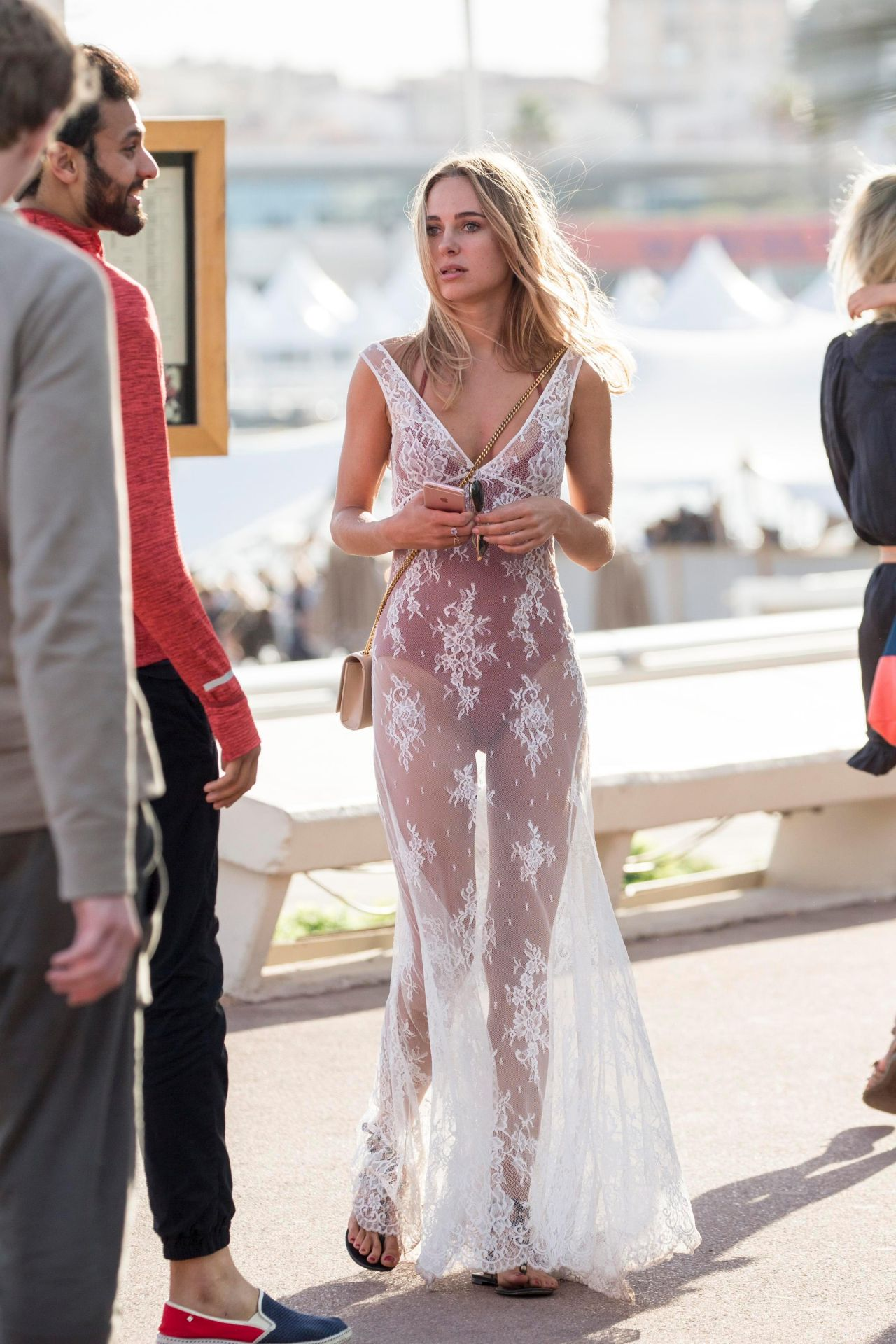 Kimberley Garner Out In Cannes France 05222017