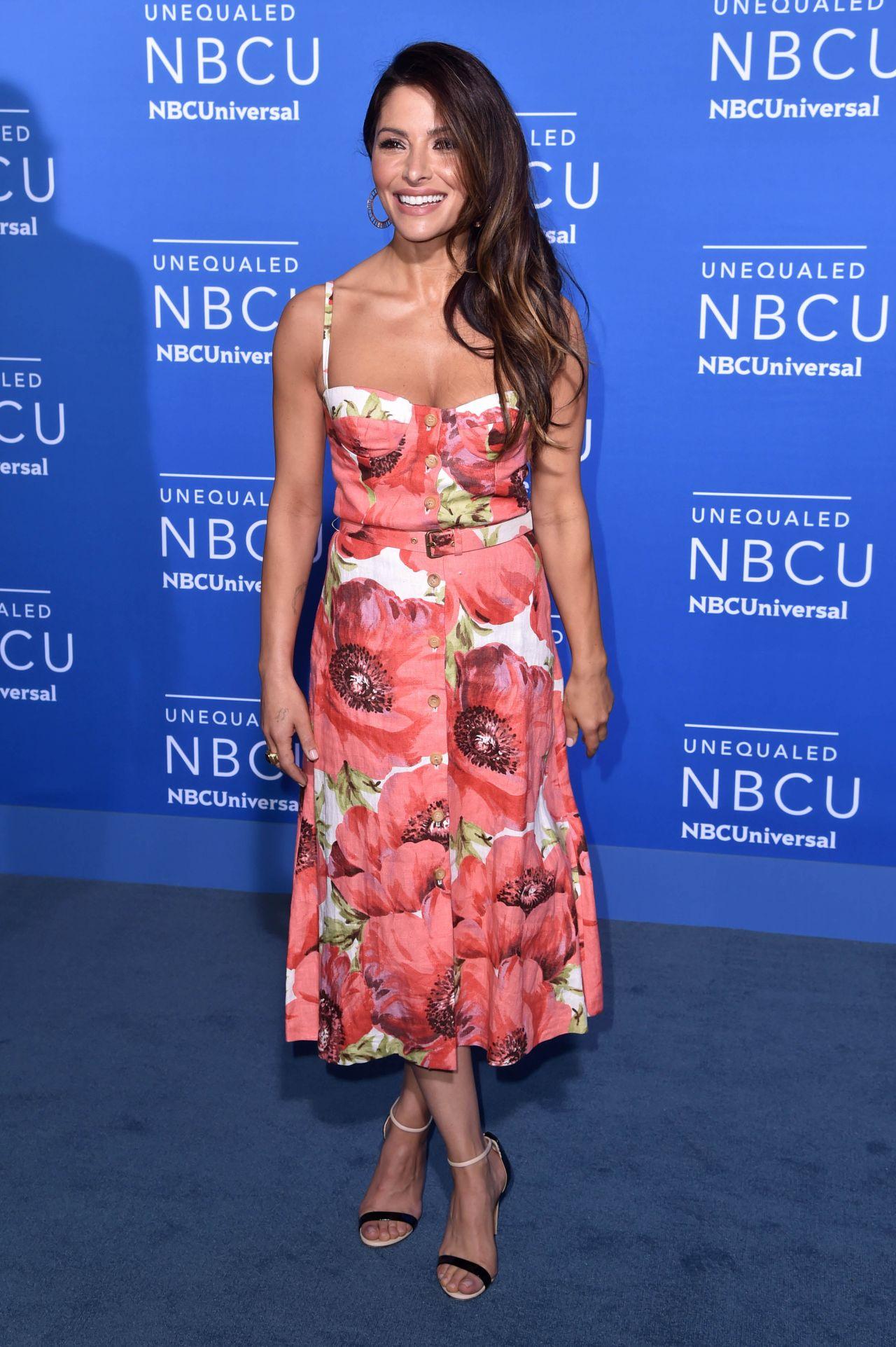 Sarah Shahi NBCUniversal Upfront In NYC 05152017