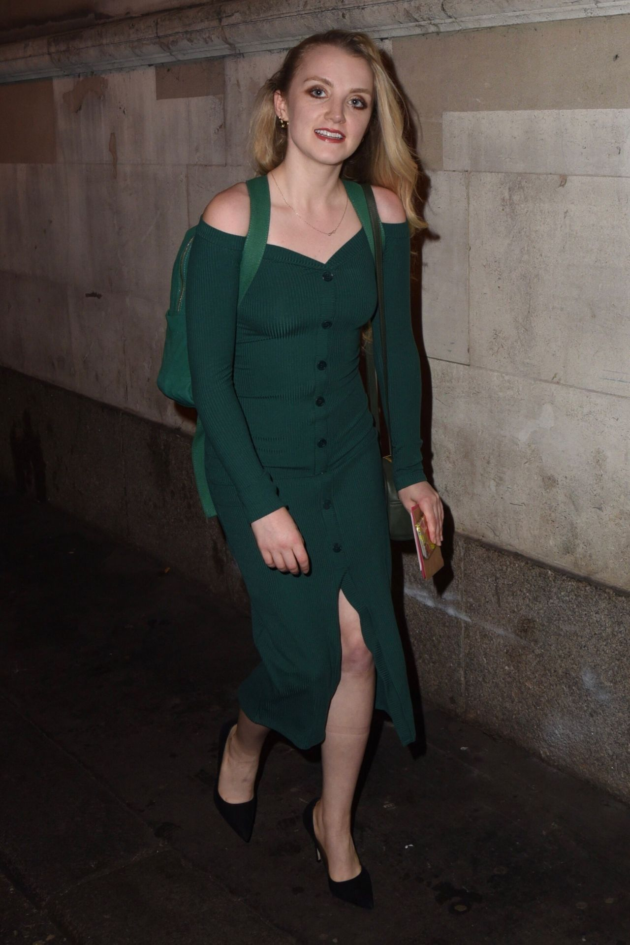 Evanna Lynch Disco Pigs Play In London UK 07182017
