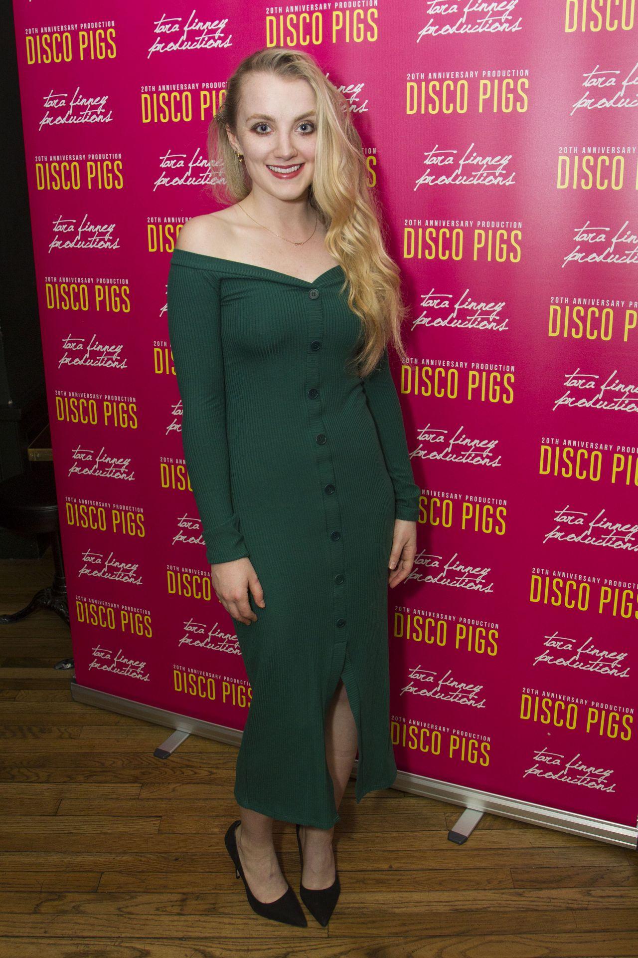 Evanna Lynch Disco Pigs Play In London UK 07182017