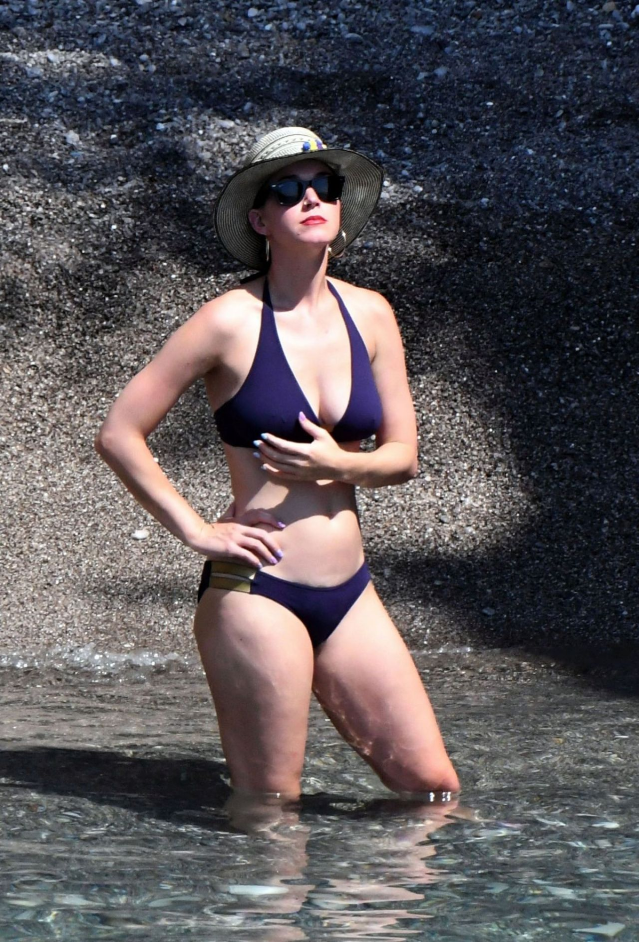 Katy Perry In Bikini Vacation In Italy 07132017