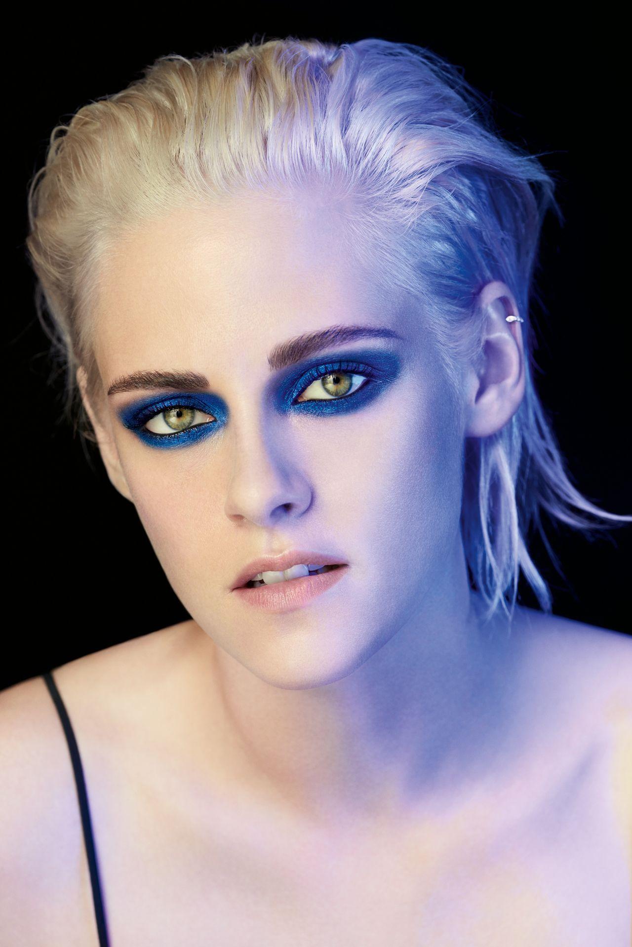 Kristen Stewart Headshots Chanel Ombre Premire Eyes