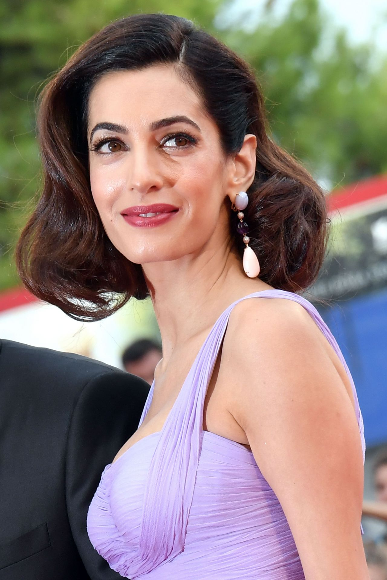 Amal Clooney And George Clooney Suburbicon Premiere In