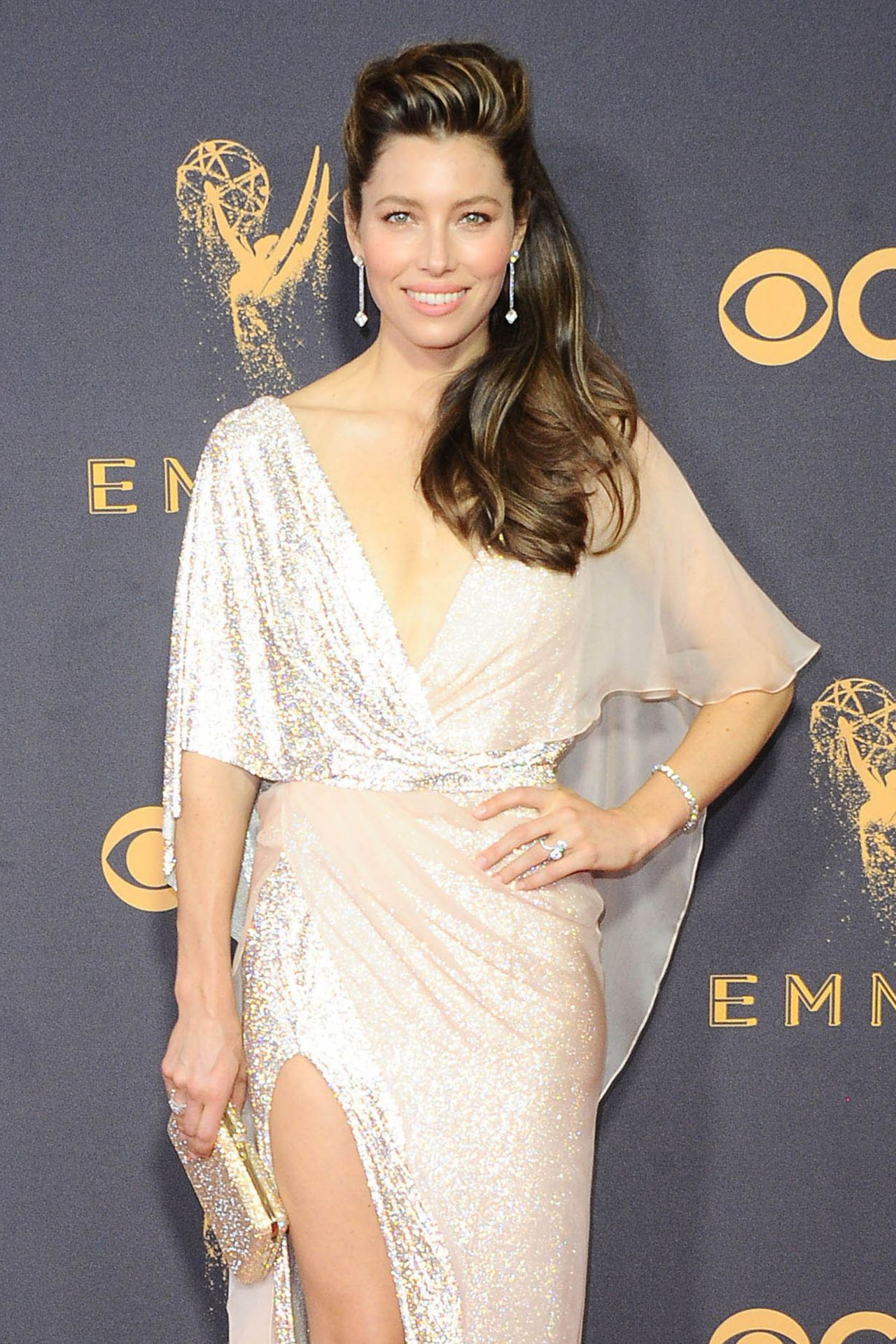 Jessica Biel Emmy Awards In Los Angeles 09172017