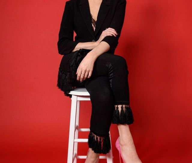 Elizabeth Gillies Womens Wear Daily Photos October