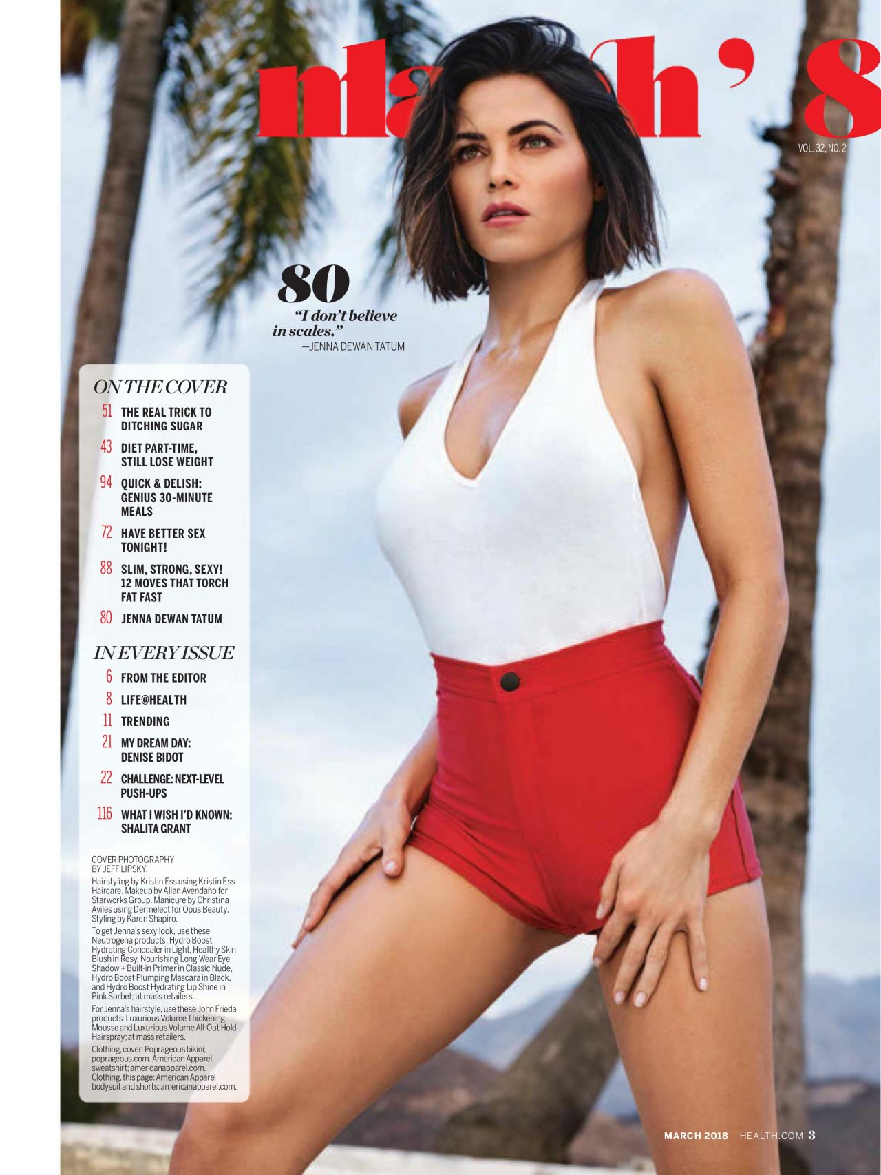 Jenna Dewan Tatum Health US March 2018