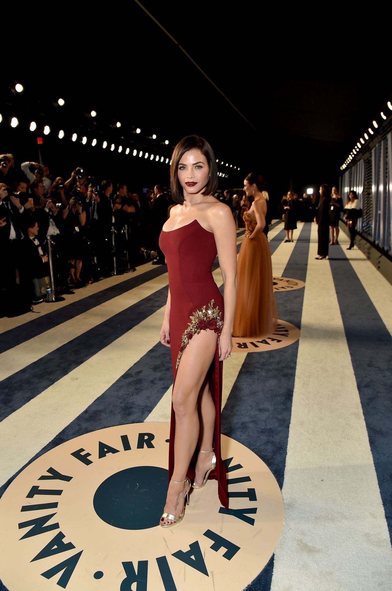 Jenna Dewan Tatum 2018 Vanity Fair Oscar Party In