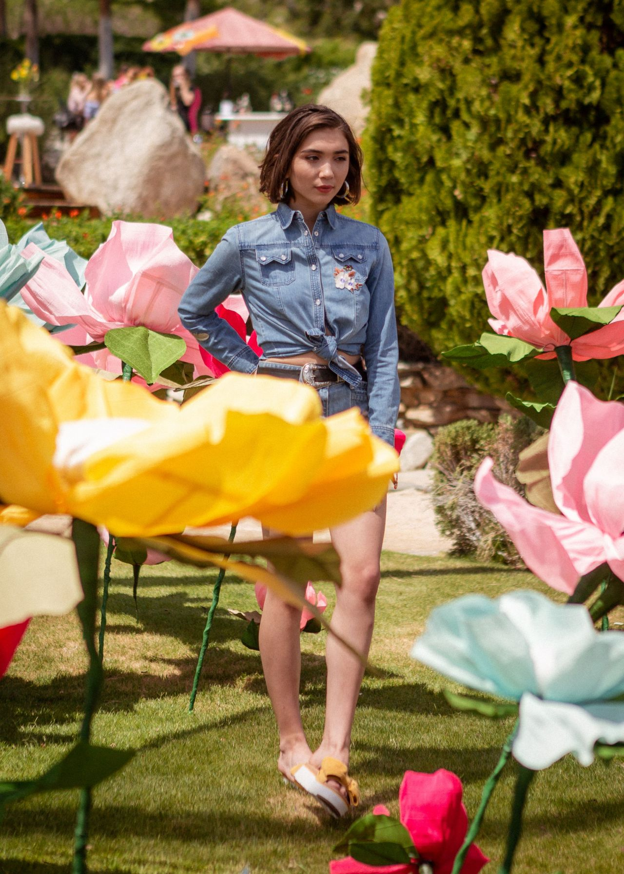 Rowan Blanchard Festival Kick Off Brunch At Coachella 2018