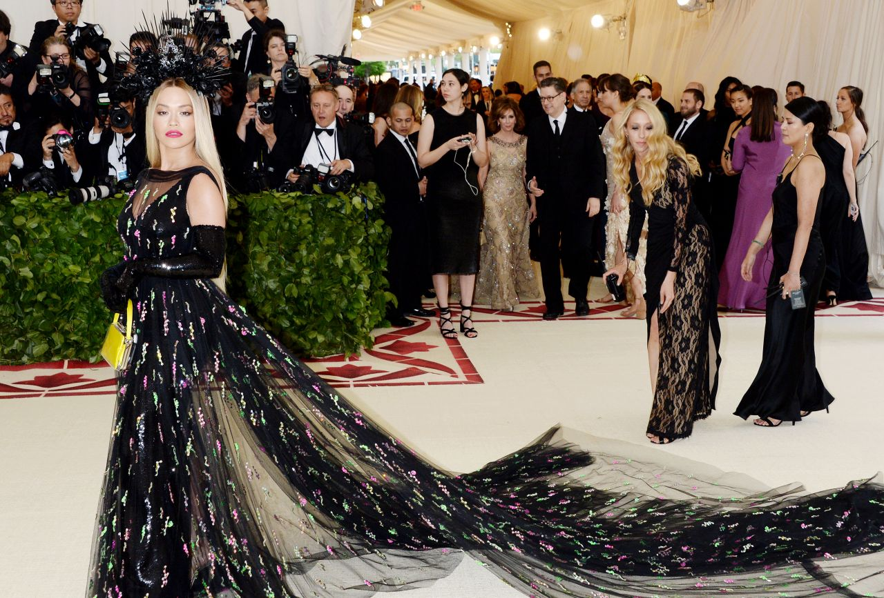Image result for rita ora met gala 2018