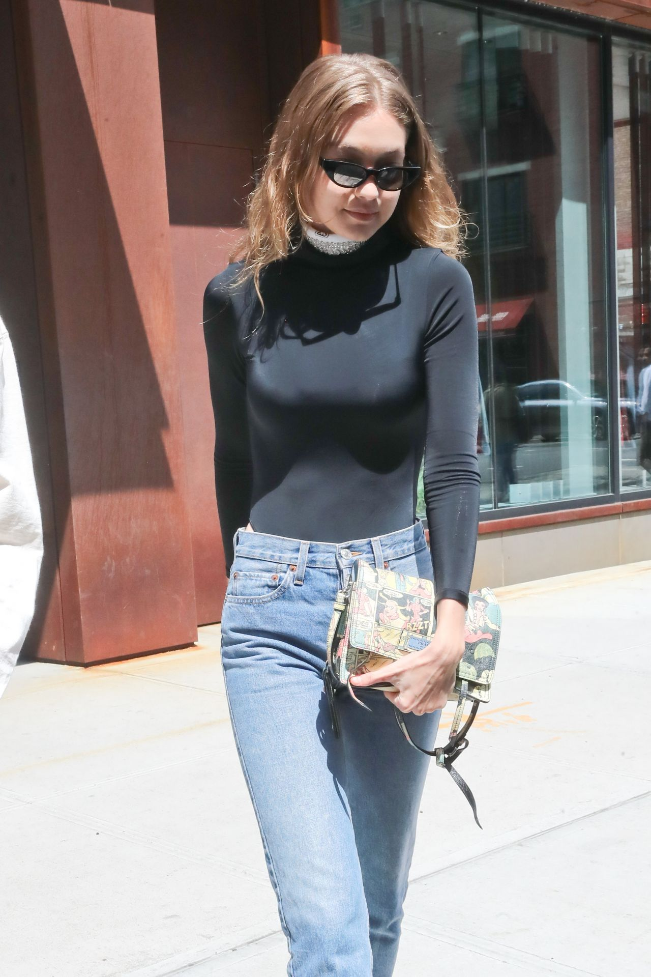 Gigi Hadid Street Style Out In New York 06042018