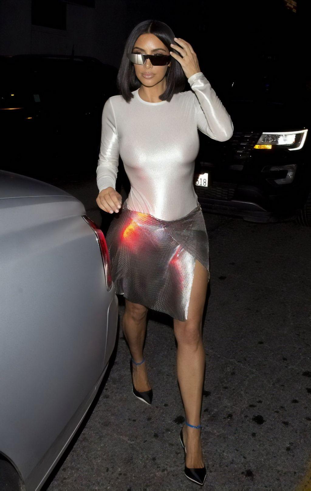 Kim Kardashian Style Los Angeles 07292018