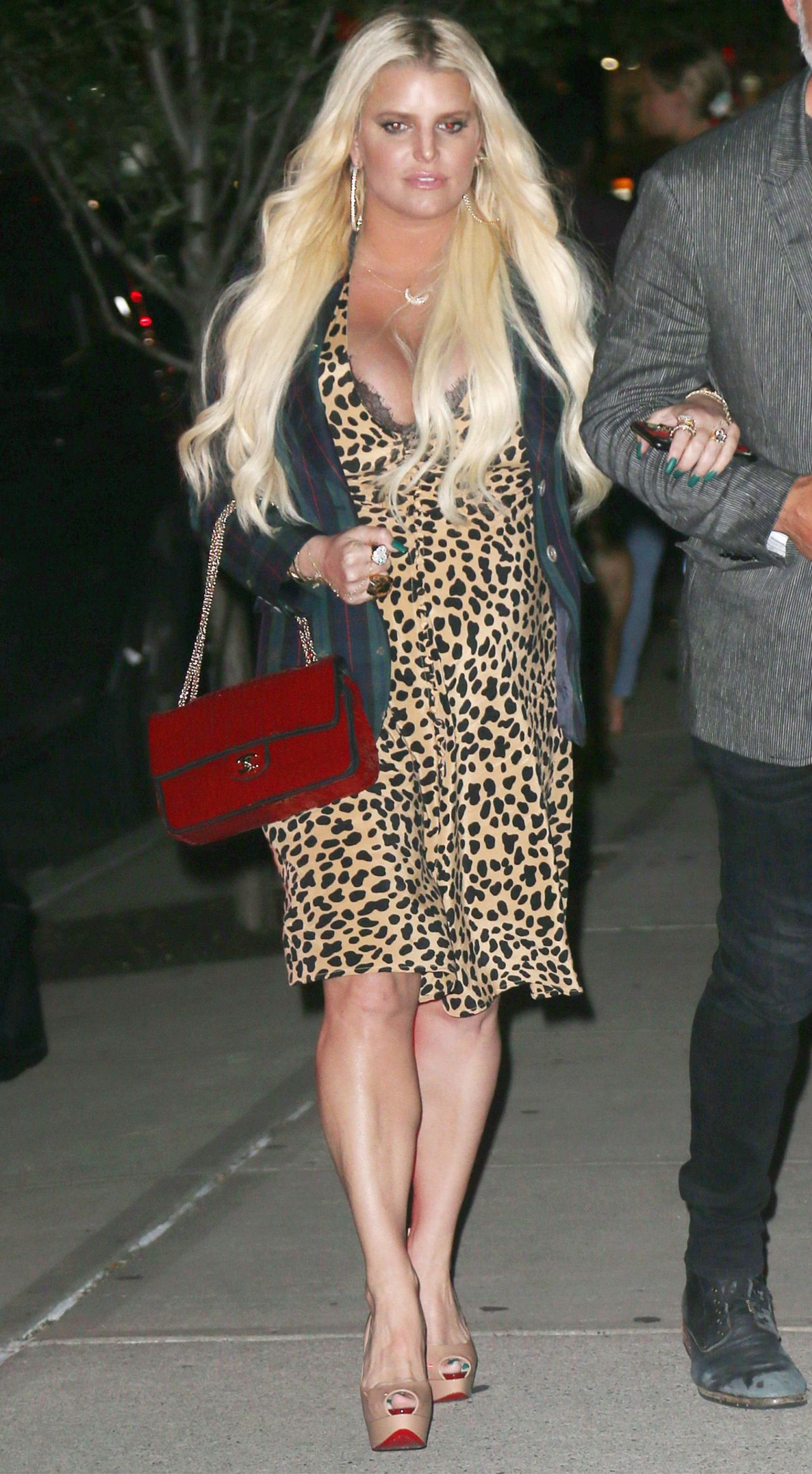 Jessica Simpson Out In New York City 07312018