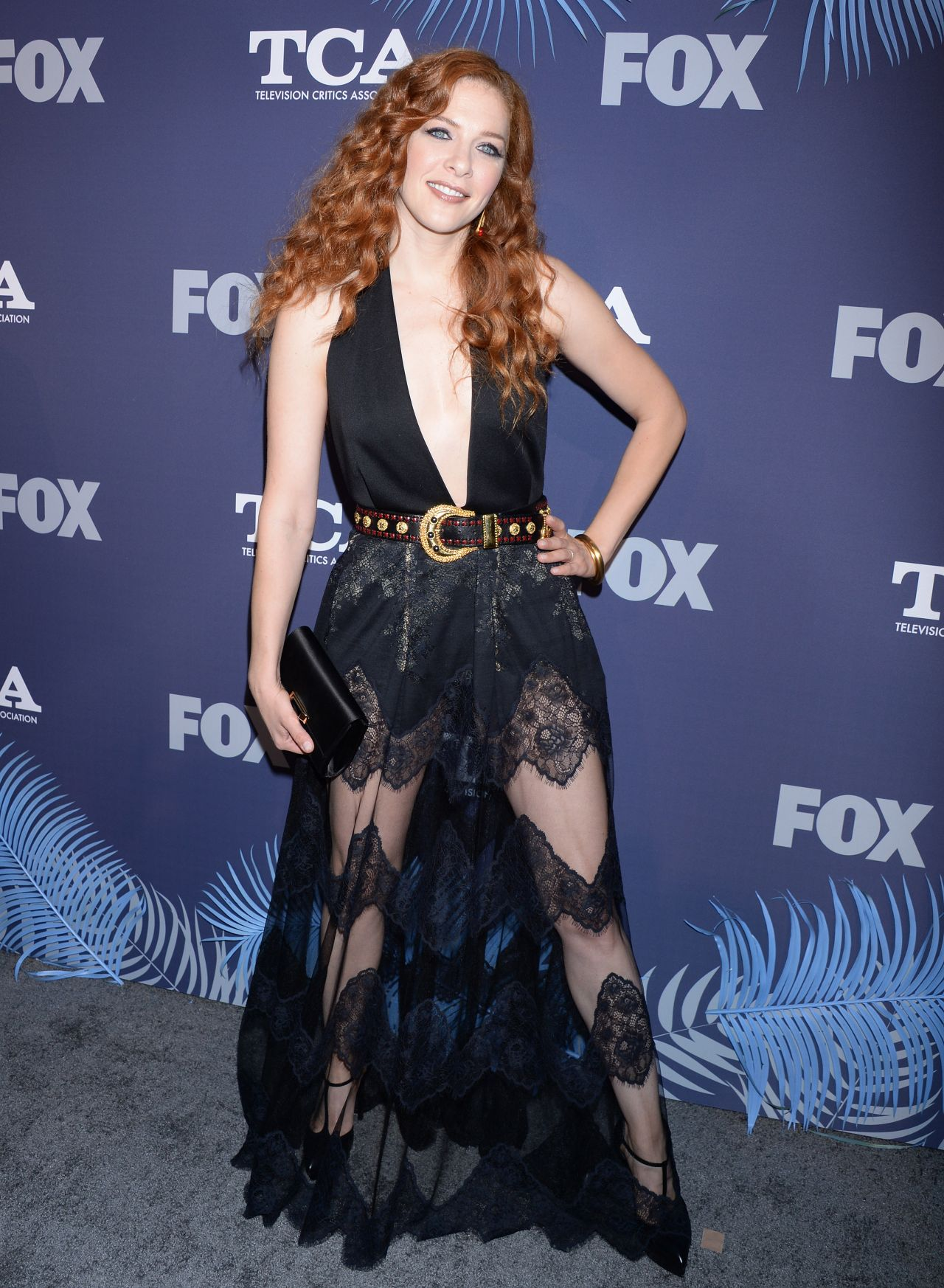 Rachelle Lefevre FOX Summer TCA 2018 All Star Party In
