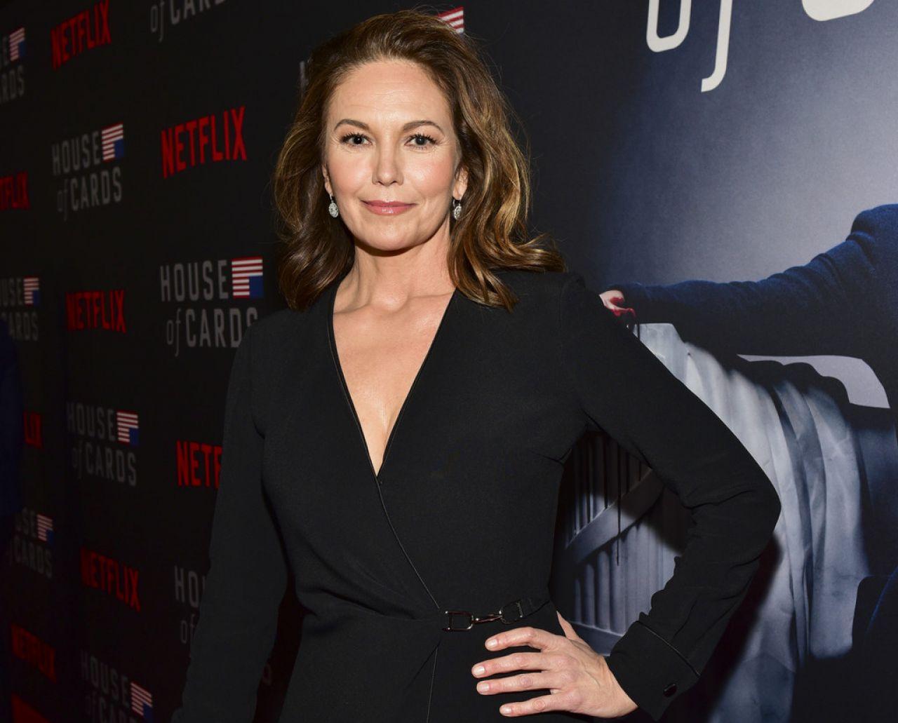 Diane Lane Netflixs House Of Cards Season 6 Premiere