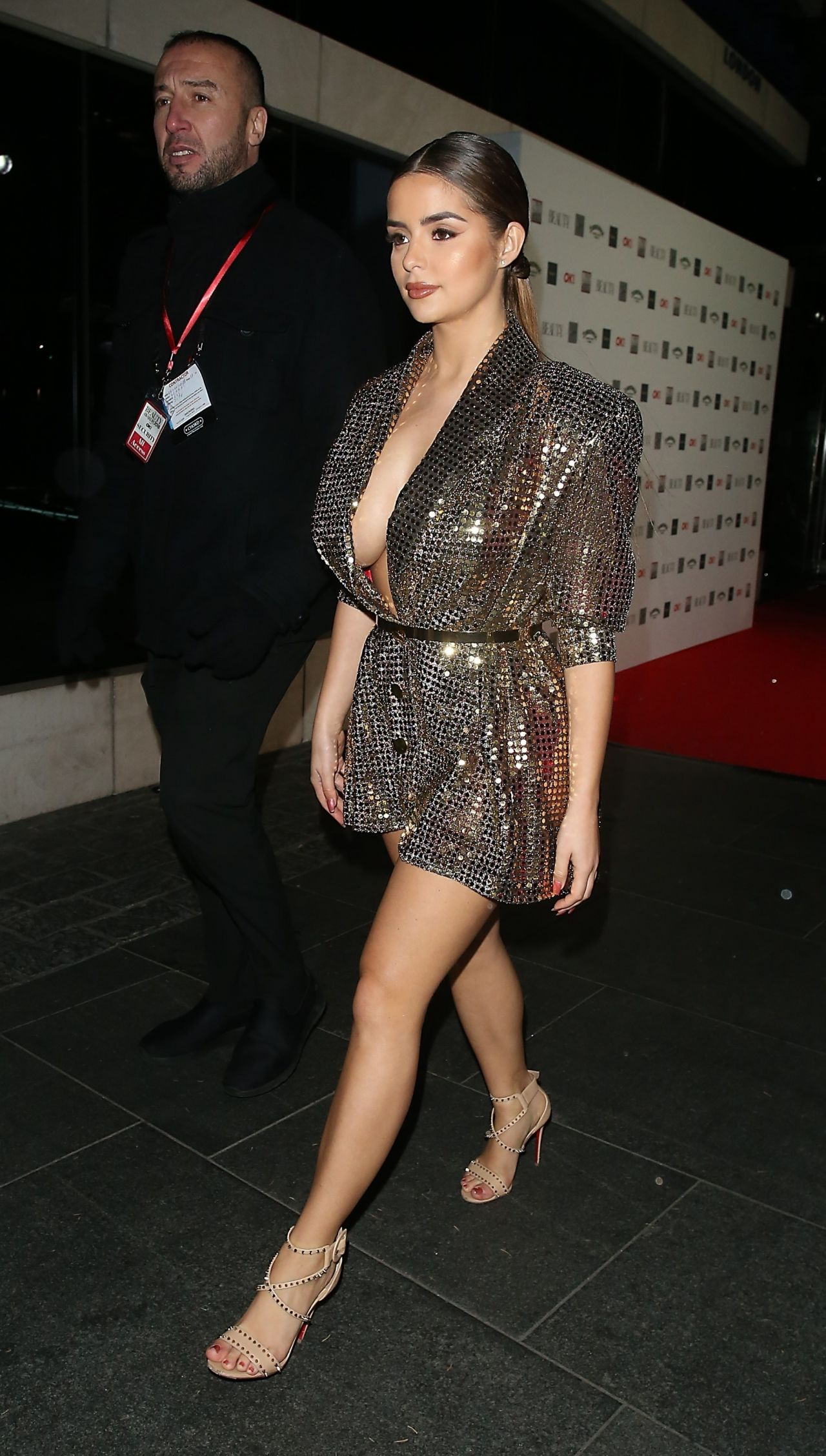 Demi Rose The Beauty Awards 2018 In London