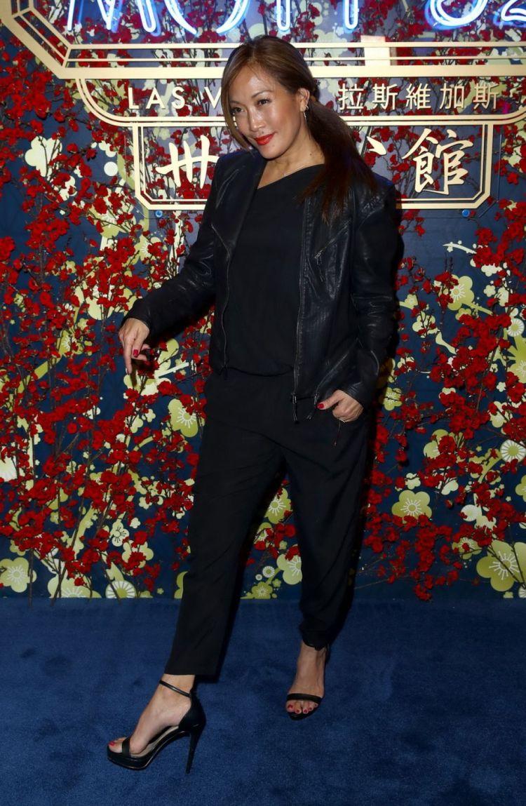 Carrie Ann Inaba - Hong Kong's Mott 32 Opening in Las ...