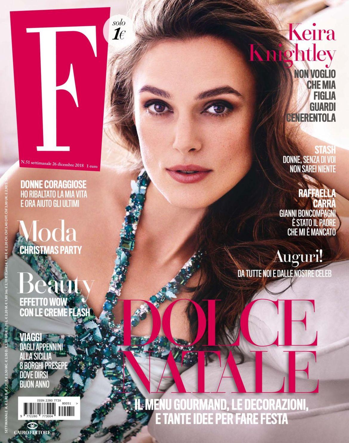 Keira Knightley – F N51 Magazine December 2018 Issue