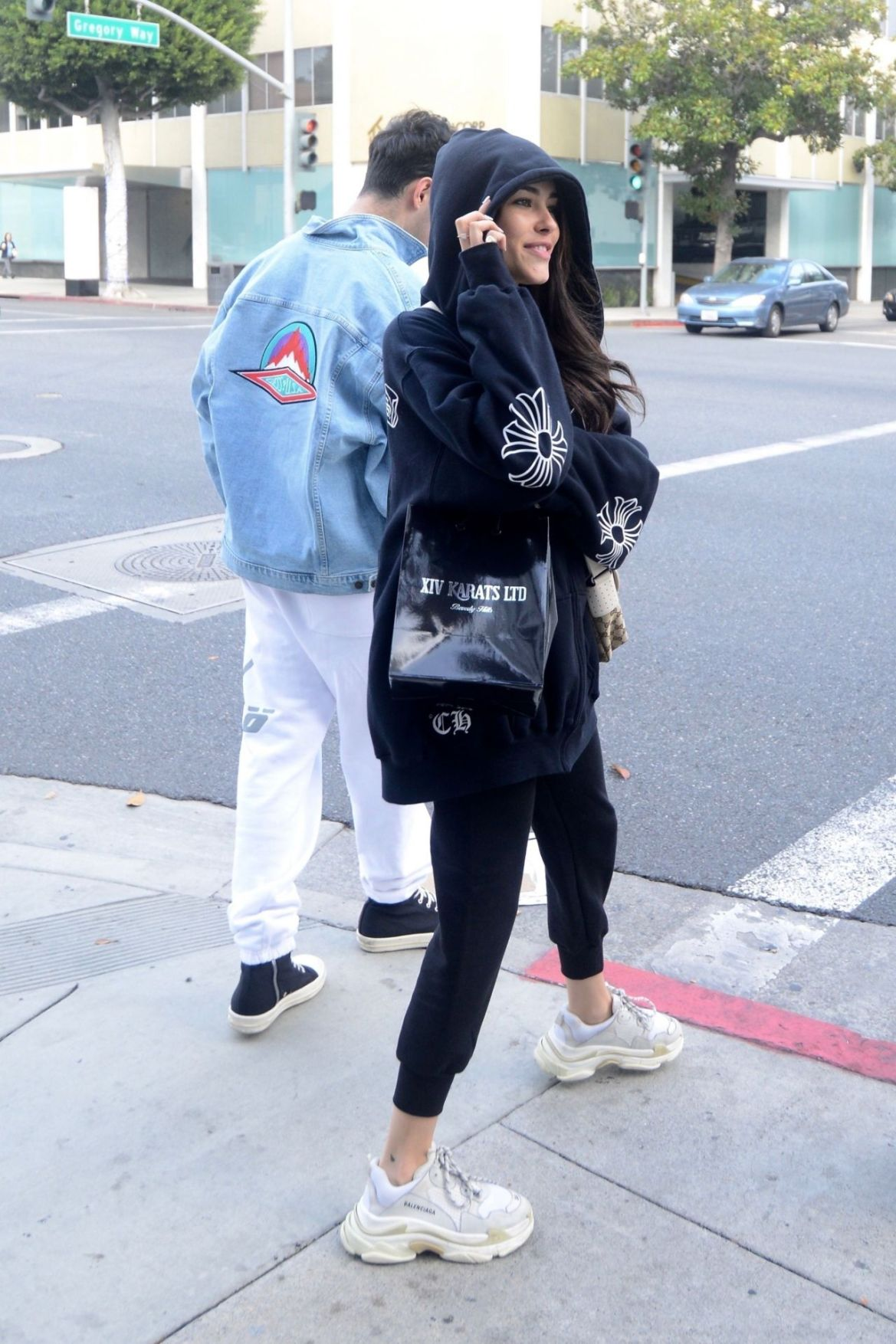 Madison Beer Shopping at XIV Karats on Christmas Eve in Beverly Hills 12/24/2018