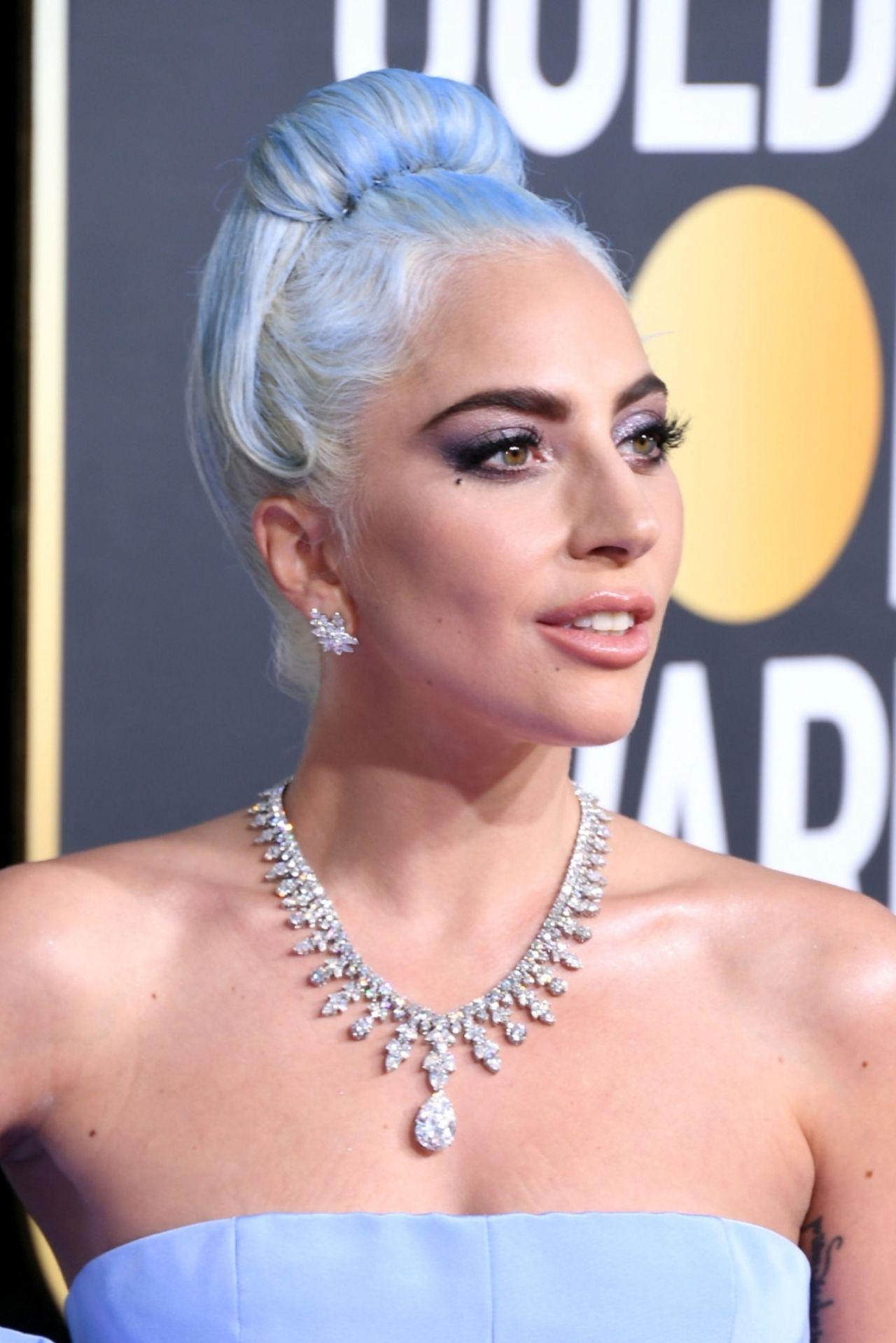 Lady Gaga 2019 Golden Globe Awards Red Carpet
