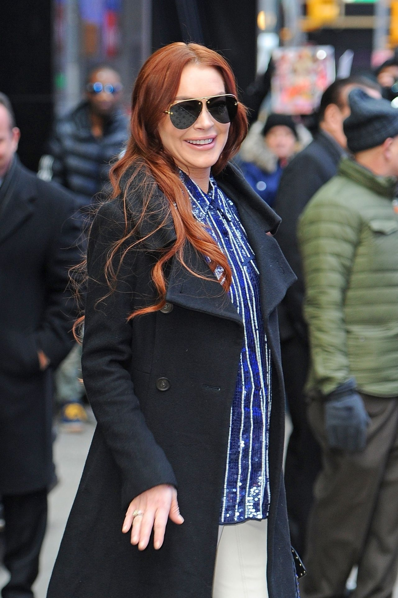 Lindsay Lohan Out In New York City 01072019