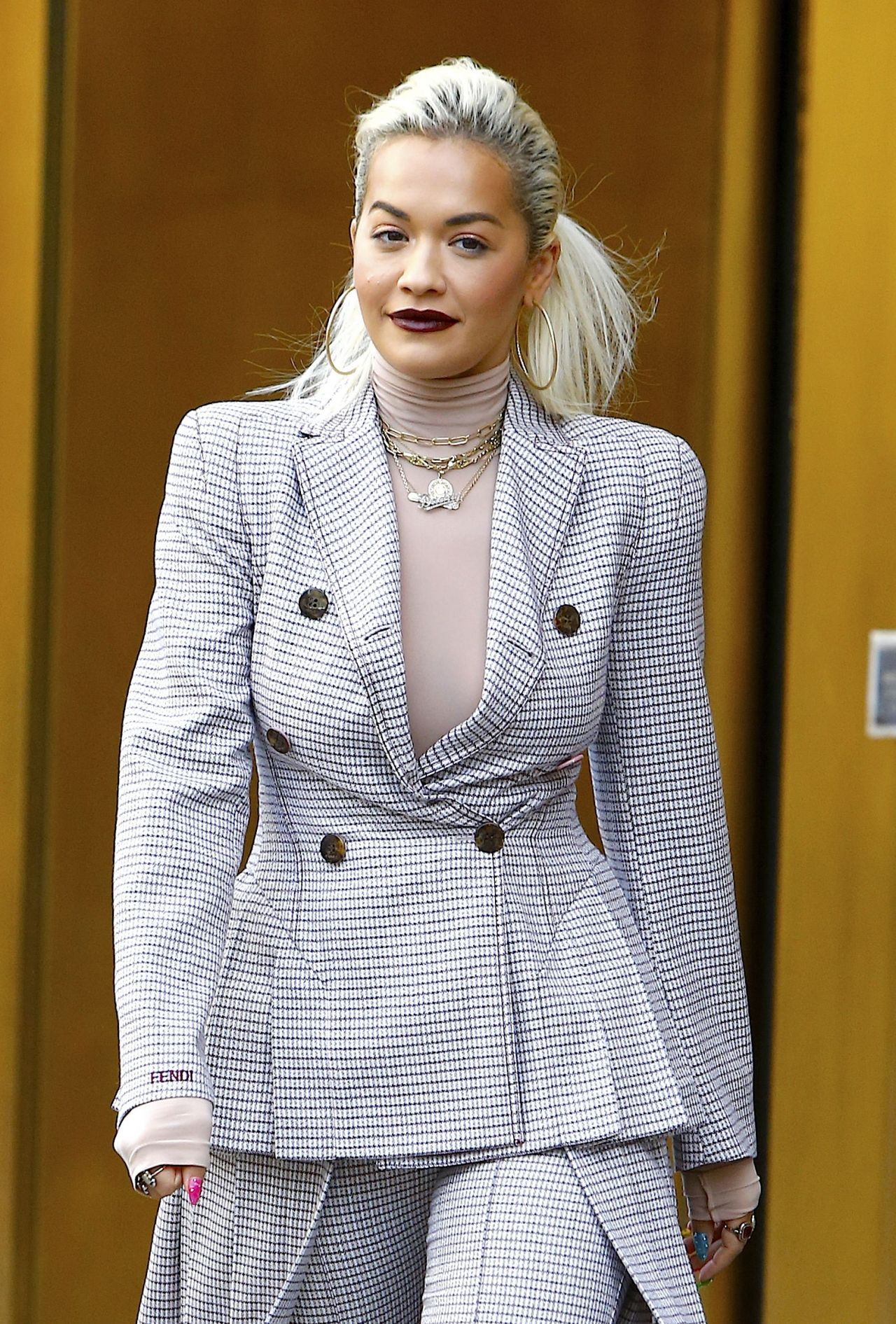 Rita Ora Shows Off Her Eclectic Style 01172019