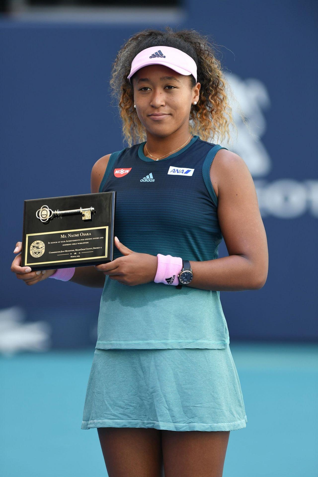 Naomi Osaka Miami Open Tennis Tournament 03 22 2019