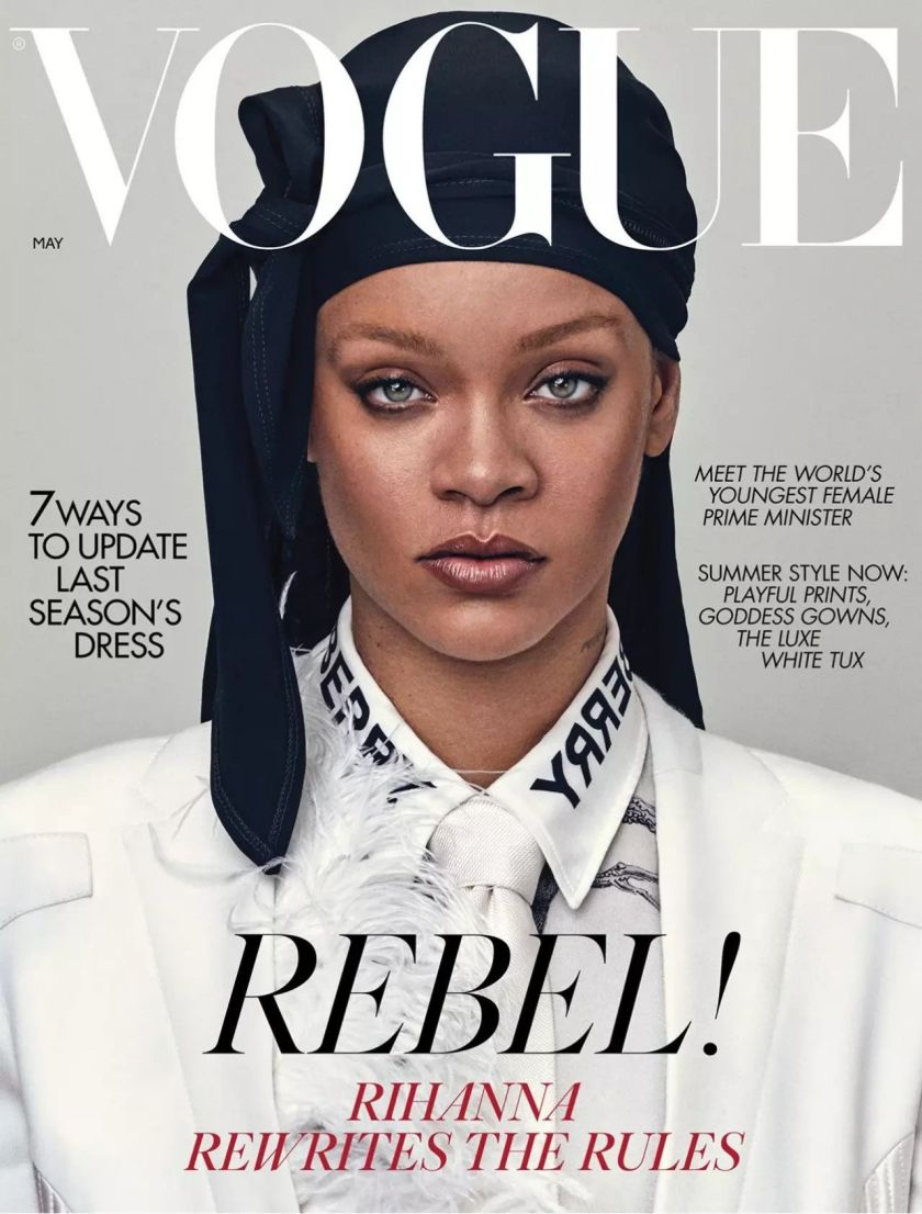 Rihanna - Vogue UK Magazine May 2020