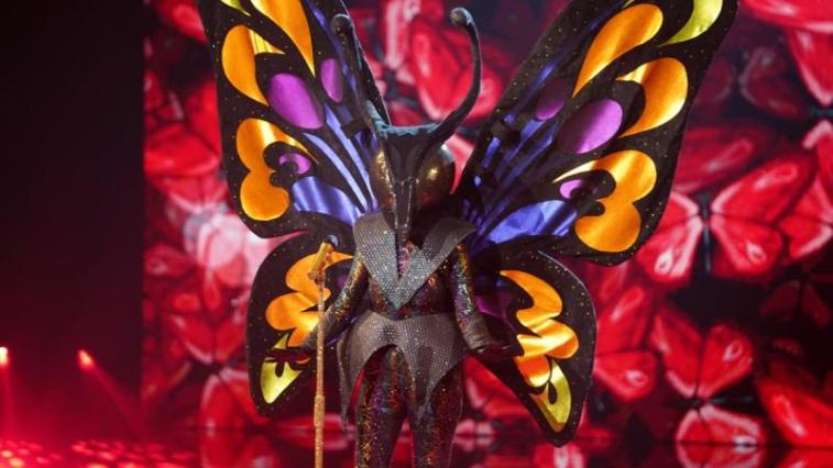 butterfly the masked singer uk