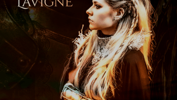 "The single cover artwork of ""We Are Warriors"" which sees Avril Lavigne looking to the left wearing head armour, neck armour, and arm armour looking fierce and ready for battle."