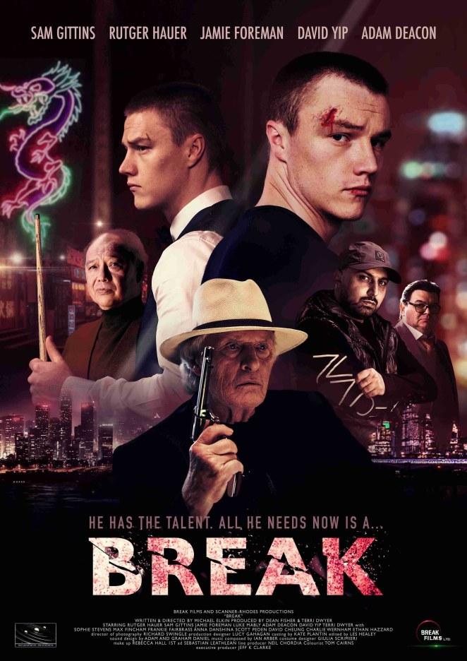 """Film poster for """"Break"""""""