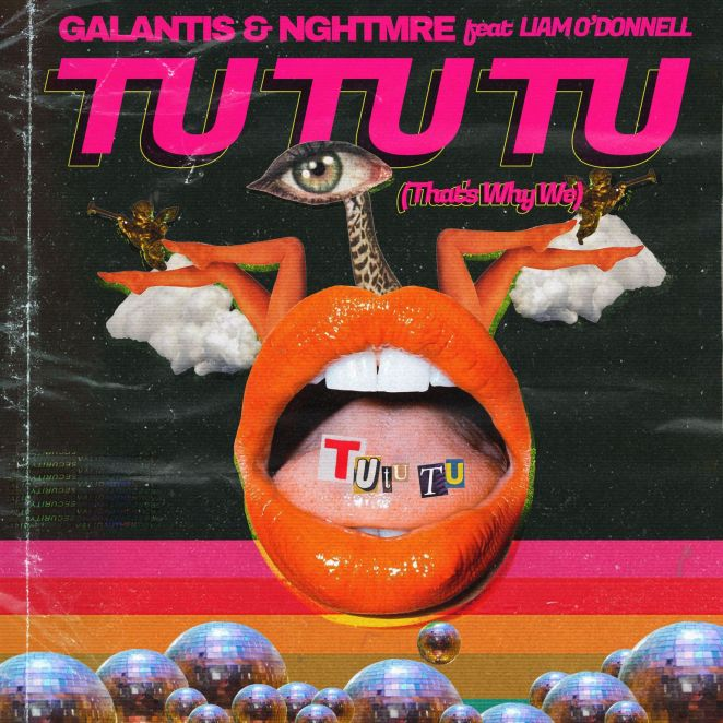 "Galantis and NGHTMRE - ""Tu Tu Tu"" single artwork"