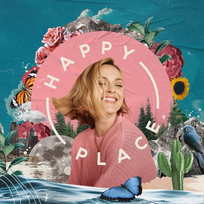 Album Artwork from Fearne Cotton for her album Happy Place.