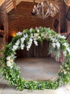 Married in front of this Moon Gate