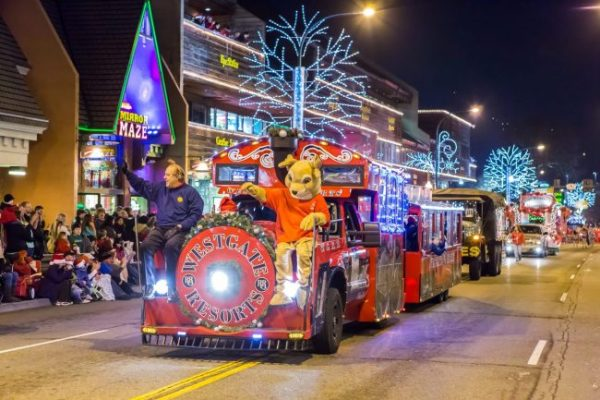 Dandridge Christmas parade, Dollywood Christmas, Dollywood Christmas parade, Fantasy of Lights Christmas Parade, Gatlinburg Christmas, Gatlinburg Christmas Parade, Gatlinburg Christmas special event, Seymour Christmas parade, Townsend Christmas parade