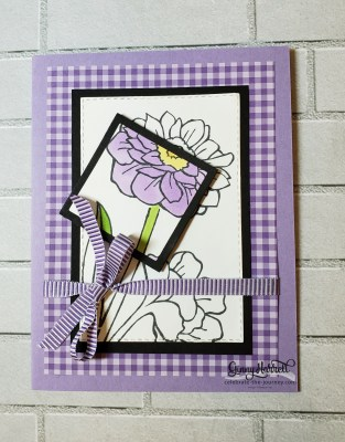 gingham band together stampin' up ginny harrell