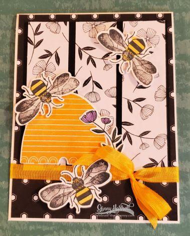 honey bee ginny harrell stampin' up.