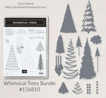 Whimsical Trees stampin' up Ginny Harrell Christmas