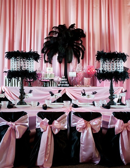 Fancy Pink And Purple And Silver Weddings