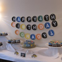 Party Time: Grady's Subway Birthday Party