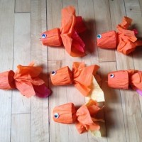 All About the Packaging: Crepe Paper Goldfish