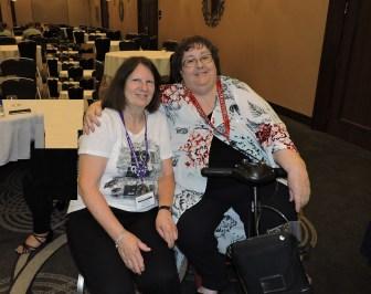 Lynn Warden with Nanette