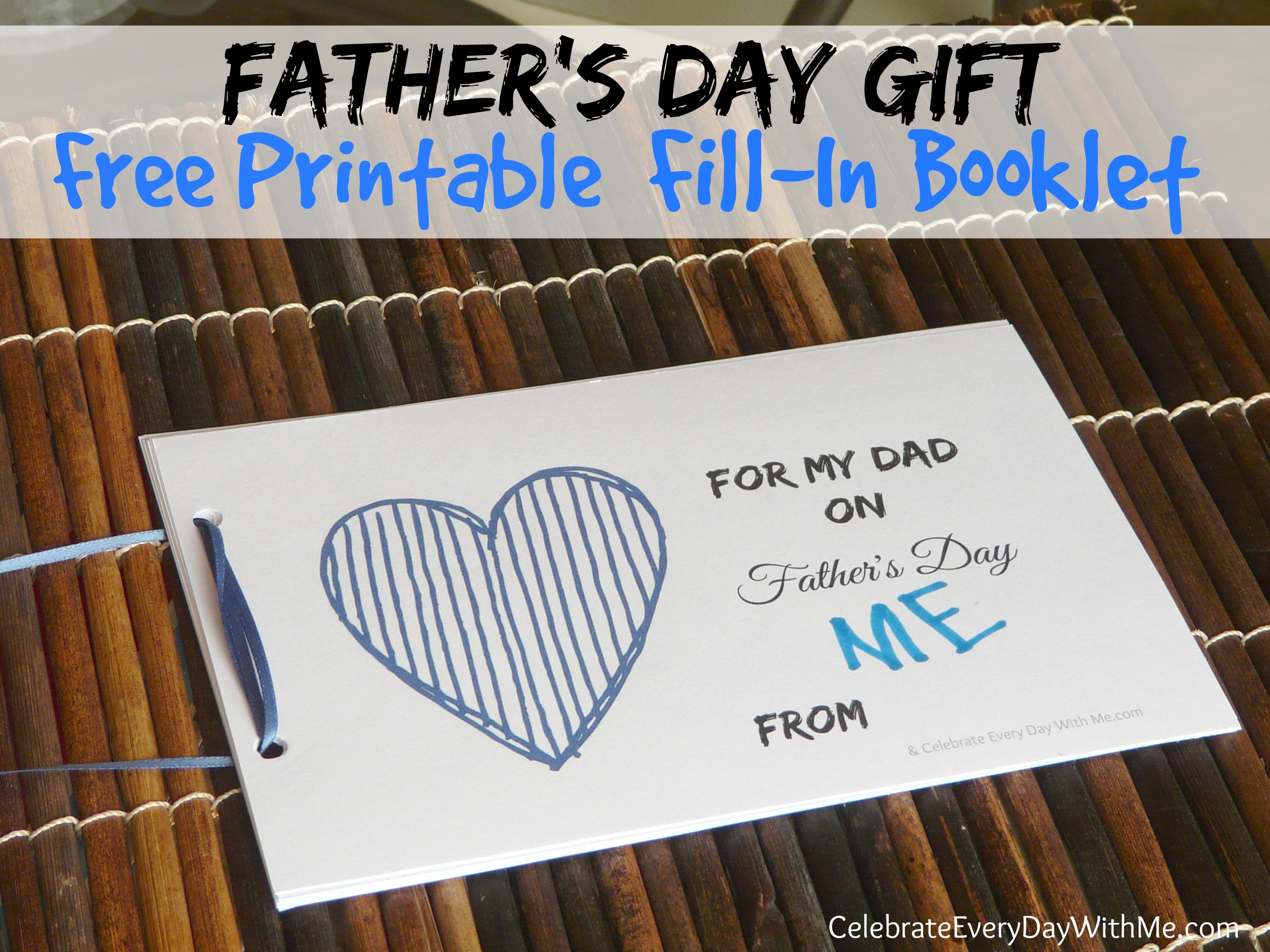 Free Printable For Father S Day
