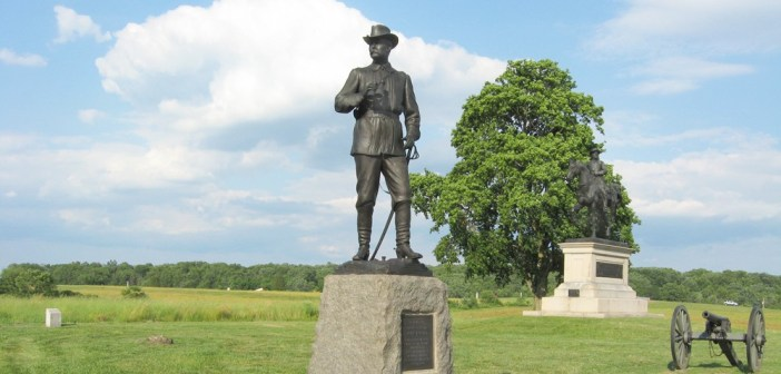Monument to General John Buford at Gettysburg