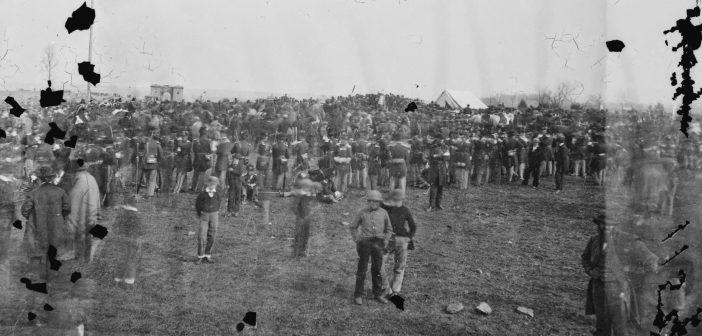 Abraham Lincoln at Gettysburg