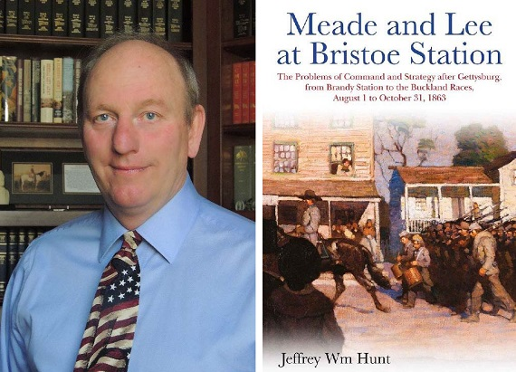 Civil War Author Jeffrey William Hunt to Appear for Book